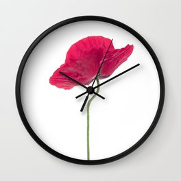 Solo Poppy Wall Clock