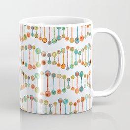 Watercolor DNA Strands Coffee Mug