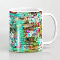 boyfriend Mugs featuring BOYFRIEND SWEATS -2- by Glint & Lime Art