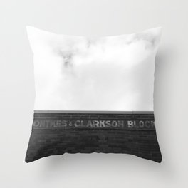 Ontkes & Clarkson Block Drumheller Throw Pillow