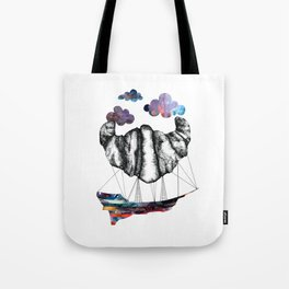 Intergalactic Zeppelin Tote Bag
