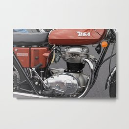 BSA Thunderbolt 2 Metal Print