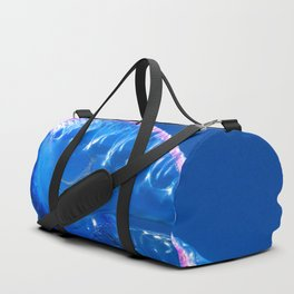 Fish and friend jellyfish Man O´War Duffle Bag