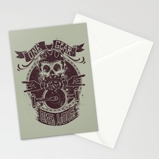 One gear one love Stationery Cards