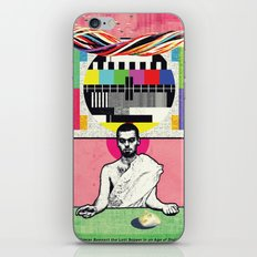 Man and Woman Reenact the Last Supper in an Age of Digital Ecstasy iPhone & iPod Skin