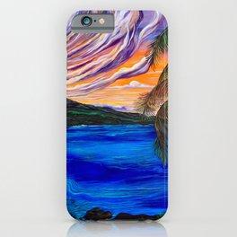 Māhealani Moon iPhone Case