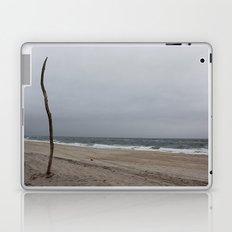Cloudy Beach Day Laptop & iPad Skin