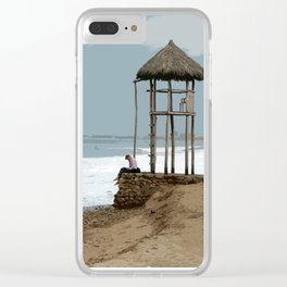 Tranquility in Puerto Vallarta Clear iPhone Case