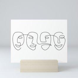 The Carnival Of Four Mini Art Print