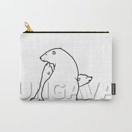 The Ungava Collection: The Polar Bear Family Carry-All Pouch