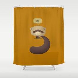 Little Furry Friends - Ferret Shower Curtain