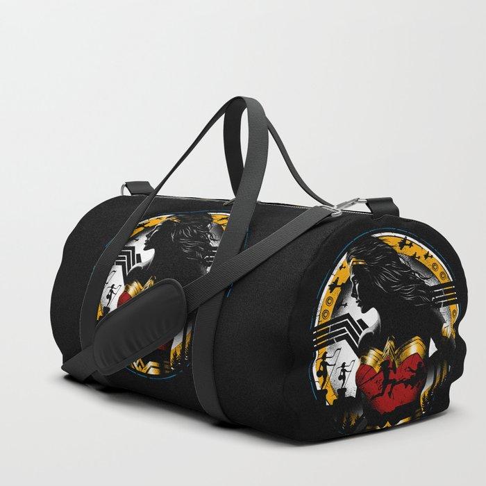 7f37845167 Amazon Girl Duffle Bag by laurazanetakos