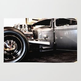 Hot Rod Coupe Rug