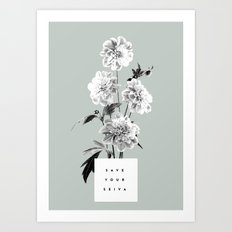 Save Your Seiva Art Print