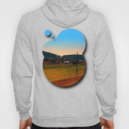 Powerlines into the distance Hoody
