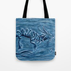 Wind Dragon Tote Bag