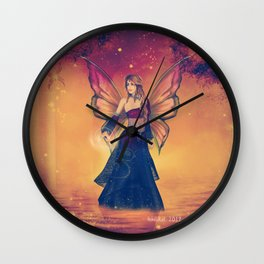 The Queen of Faerie Wall Clock
