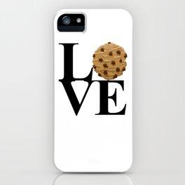 LOVE Cookies iPhone Case