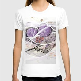 Space Planet Star Abstraction Art #2 T-shirt