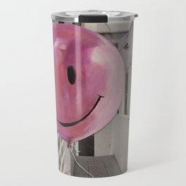Floating Pink Balloon Travel Mug
