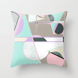 For the love of Memphis Throw Pillow