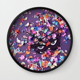 Hidden Carnival Wall Clock