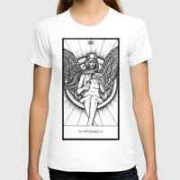 tarot T-shirts featuring Temperance Tarot by Corinne Elyse