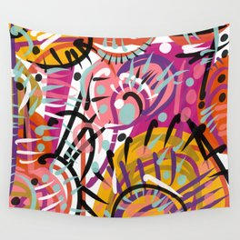 Simple complexity Wall Tapestry