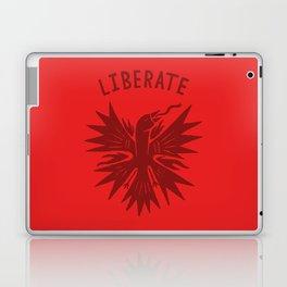 phoenix liberate crest x typography Laptop & iPad Skin