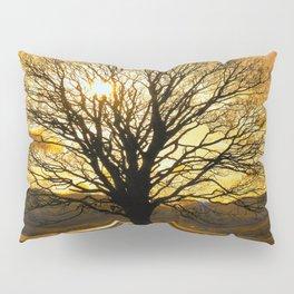 Tree of Fire Pillow Sham