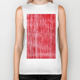 Color gradient and texture 14 red Biker Tank