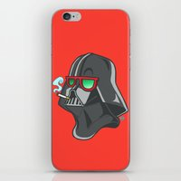 darth iPhone & iPod Skins featuring Darth by Octofly Art