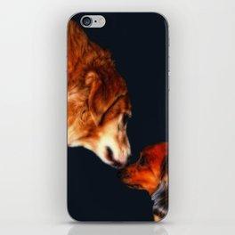 Kodiak and Bailey iPhone Skin