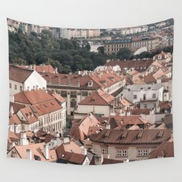 Prague Rooftop 06 Wall Tapestry