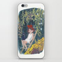 kiki iPhone & iPod Skins featuring Kiki by Verity