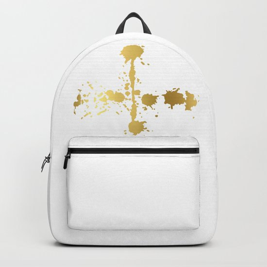 Golden abstract #3 Backpack