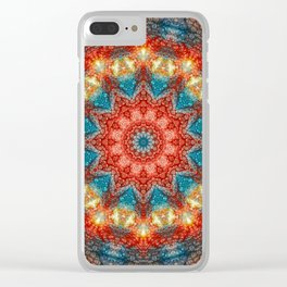 Birth Of A Sun Clear iPhone Case