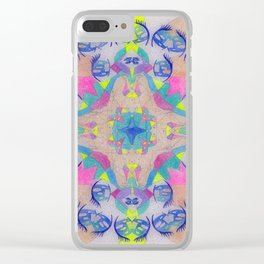 Inner Space 1 Clear iPhone Case