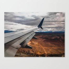 wing over mars Canvas Print