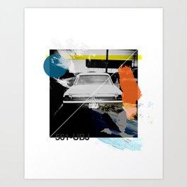 Random Collage #1 Art Print