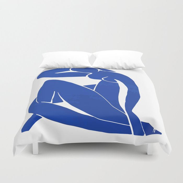 Henri Matisse - Blue Nude 1952 - Original Artwork Reproduction Duvet Cover