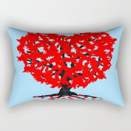 Love Tree Rectangular Pillow