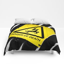 Danger of Death #2   New Slant, Old Message Comforters