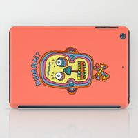 human iPad Cases featuring Human  by PINT GRAPHICS