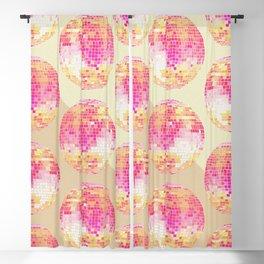 Disco Ball – Pink Ombré Blackout Curtain