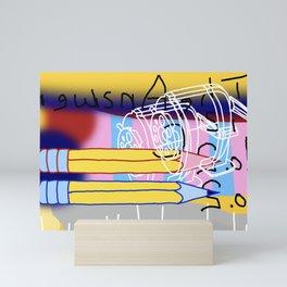 Sharpen Up Mini Art Print