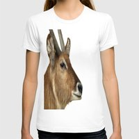 elk T-shirts featuring Elk by Raymond Earley