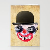clown Stationery Cards featuring Clown by Ahmet Hacıoğlu