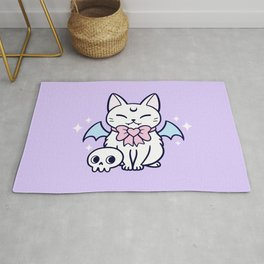 Bat Kitten 01 Rug