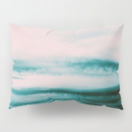 Ocean Romance #1 #abstract #decor #art #society6 Pillow Sham